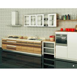 China MDF customized modern kitchen cabinet