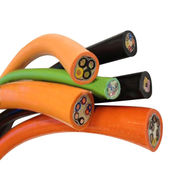 China Towline cable flexible cable billion times bending for towline system