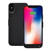 New Design Power Bank Case Backup Battery Cases for iPhone X, with 5500mAh Lithium polymer battery from Shenzhen E'allto Technology Co. Ltd