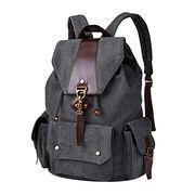 China Vintage Canvas Backpack Casual Shoulder Bag Large