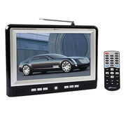China 3D in-dash car TV monitor small 7-inch LED monitor rearview monitor