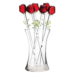 Handmade Glass Roses Profit Continent Industrial Co. Limited