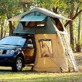 Standard type car c&ing mounts on roof rack tent for 4x4-inch or c&er van & China Panoramic RTT car camping mounts on roof rack tent from ...