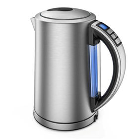 China 1.7L/SS Electric Kettle with Multi-color for Different Temperature Setting Strix Controller