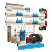 China SZLH400 pig feed pellet making machine line