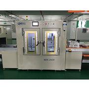 China In-line/online vacuum glue filling machine