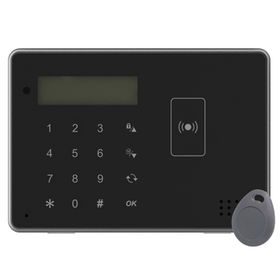 ZigBee Remote Keypad with Tag/NFC Sticker Reader, Compatible with Home Automation Control Panels