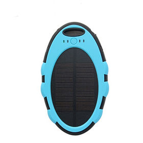 China 12V Portable Solar Charger for Mobile Phone with CE, RoHS