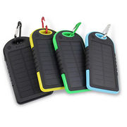 China 2016 newly arrival top selling 5000mAh portable solar chargers for mobile phones/iPhone