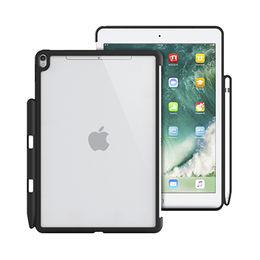 """China TPU + PC hard case for iPad Pro 10.5"""" with stylus slot"""