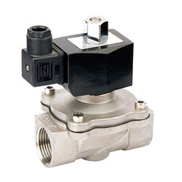 China 2/2 Way Stainless Steel N.O. Magnetic Valve ZCQ-10SSK