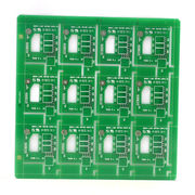 Taiwan Double-sided PCB with 1.6mm Thickness and FR4 Base Material
