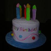 China Birthday cake party hat