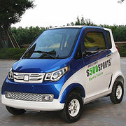 Electric Car, USD1999, 3 Passengers, Left and Right Hand-drive, 50kph Lithium Battery from Weihai PTC International Co. Ltd