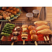 China BBQ Grill Mesh with Non-stick Coating For Fish, Chicken, Vegetable