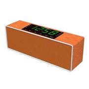 China Alarm clock time bluetooth speaker