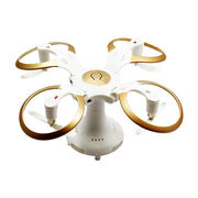 Flying UFO unique design mushroom shaped mini foldable WiFi camera drone