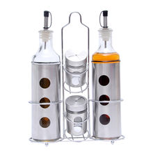 China Stainless steel oil dispenser, 4-piece set