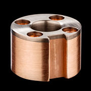 China Polished tungsten copper alloy (W-Cu alloy) high voltage electrical contact GIS
