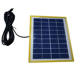 China In stock about 9V5W solar panel for camping, emergency light, decorative lamp