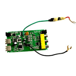 China Solar charger, solar lamp PCB design, LED sensor lamp controller board