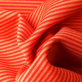 Solid/Stripe Reversal Interlock Fabric with Wicking from Lee Yaw Textile Co Ltd