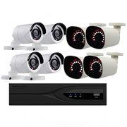 China 8ch 1.3MP 8CH Alarm Camera Face Detection POE NVR Kit