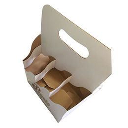 China Paper box wholesale for packaging 3-bottle wine cardboard box