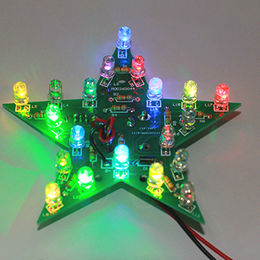 DIY craft colorful flashing start learning electronic LED PCB board,OEM products from Syhogy (Xiamen) Tech Co., Ltd