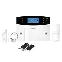 China GSM wifi internet home security burglar alarm with App control