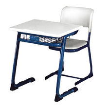 china metal school furniture school desk student desk and chair on