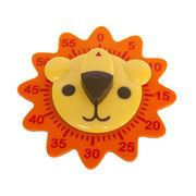 Kitchen Timer Lion Wind Up Mechanical 60 Minute C