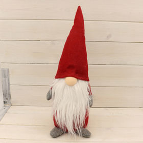 China Exclusive Handmade Fabric Gnome Table Sitter For Christmas Gifts And  Decoration,OEM Welcomed ...