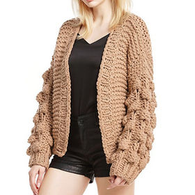 China New Arrival Warm Ladies Cardigan Sweater