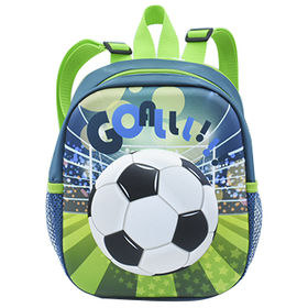 China Soccer Children s Backpacks in Fashion Design, Made of Polyester,EVA  Bag, for ... cc6b56a389
