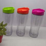 Buy Double Wall Travel Mug Plastic in Bulk from China Suppliers