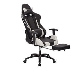 China High Back Recliner Gaming Chair White Office Home Computer
