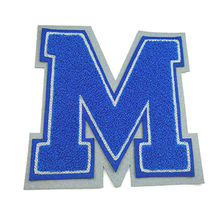 Chenille letters & patches Manufacturers & Suppliers from