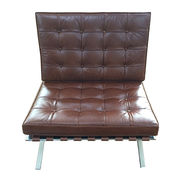 Tremendous Barcelona Chair With Real Leather Global Sources Ncnpc Chair Design For Home Ncnpcorg