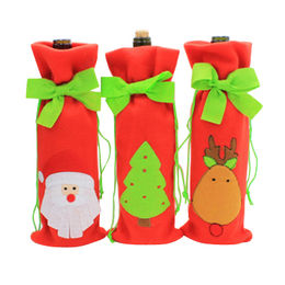 christmas party red wine gift package bag best selli