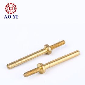 OEM Brass CNC Machined Parts Dongguan City Aoyi Hardware Co. Ltd
