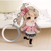 Vograce Acrylic key chain,custom keyring,fashion charms