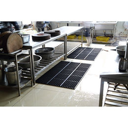 China Heavy Duty Rubber Kitchen Mat With Connectors For Hotel Or Restaurant  Mat Use ...