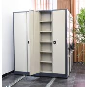 Metal Office Furniture mobile documents storage compact file ...