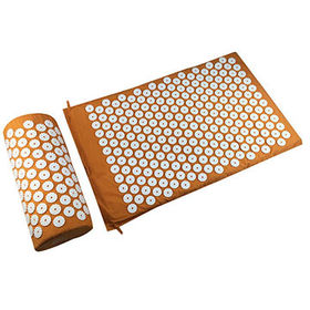 081eee6948f92 Massage Acupressure Mat and Pillow Set for Back Neck Pain Relief