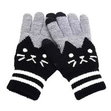 e3399a756 Winter Women Fashion Customized Knitted Glove Keep Warm Touch Screen Gloves