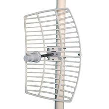 WIMAX Long Range High Gain 35Ghz 22dBi Outdoor Die Cast Parabolic Grid Antenna