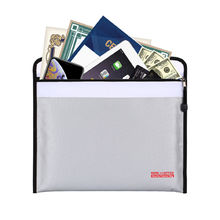 ... File Organiser Source · Document Case eBay Source High quality waterproof fireproof bag Safe Storage Zipper Document Bag