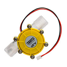 China 12V Small water flow hydro generator turbine generator hydroelectric micro hydro generator for DIY ...