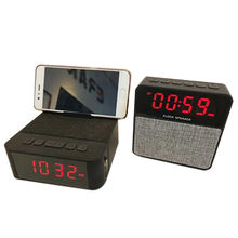 135ce4ee26 Bluetooth 4.2 Speaker with TF card FM Radio AUX Input Time display from  Shenzhen E-